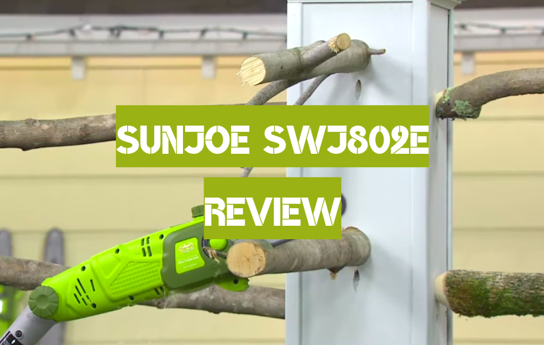 Sun Joe SWJ802E Review