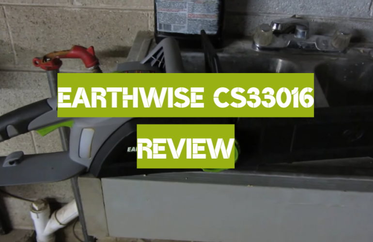 Earthwise CS33016 Review