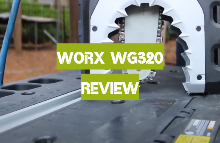 WORX WG320 Review