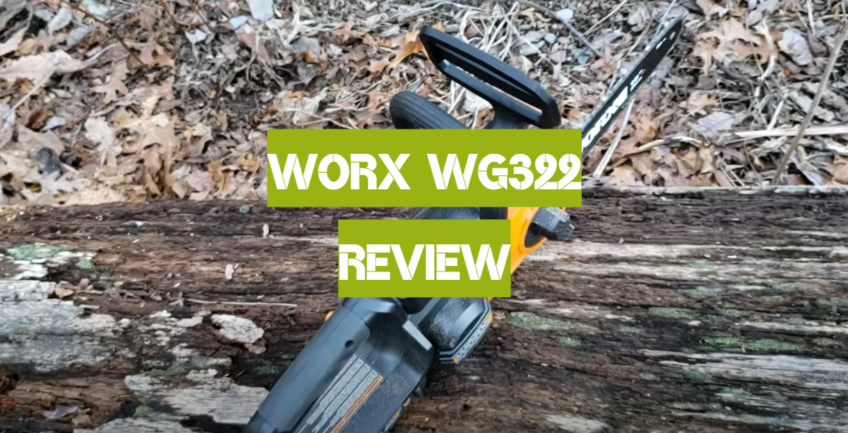 WORX WG322 Review